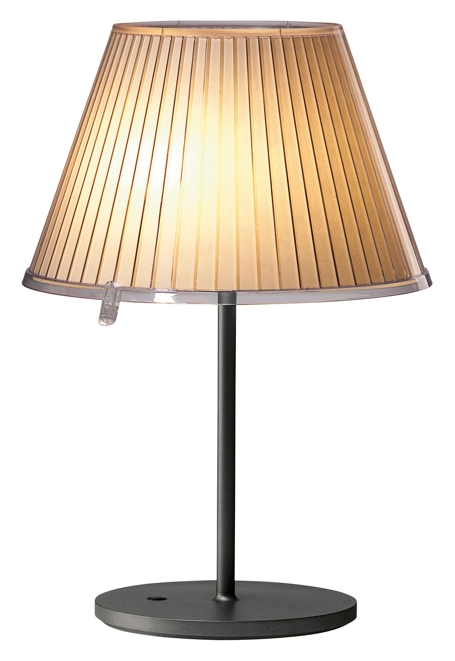 Leuchten - Tischleuchten - Choose Tischleuchte - Artemide - Beige - Glühbirne - Metall, Pergamentpapier, Polykarbonat