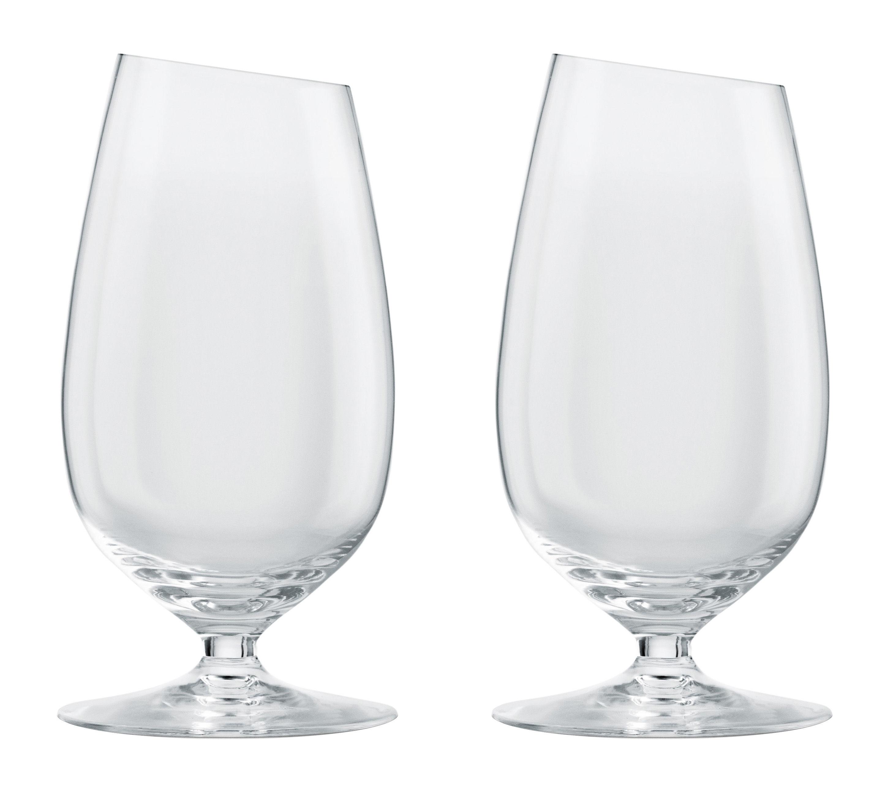 Arts de la table - Verres  - Verre à bière / Lot de 2 - 35 cl - Eva Solo - Transparent - Verre soufflé bouche