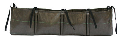 Outdoor - Pots & Plants - Accrochée 4 Window box to hang - 35 L - Brown by Bacsac - Brown - Geotextile cloth