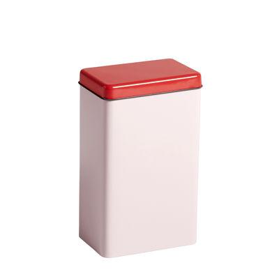 Cuisine - Boîtes, pots et bocaux - Boîte hermétique Sowden / H 20 cm - Métal - Hay - Rose - Fer blanc