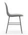 Chaise Form / Pied chromé - Normann Copenhagen
