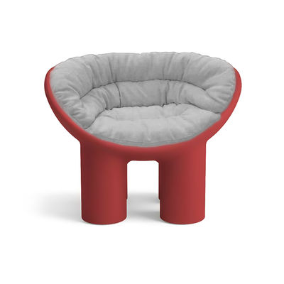Coussin INDOOR / Pour fauteuil Roly Poly - Driade gris en tissu