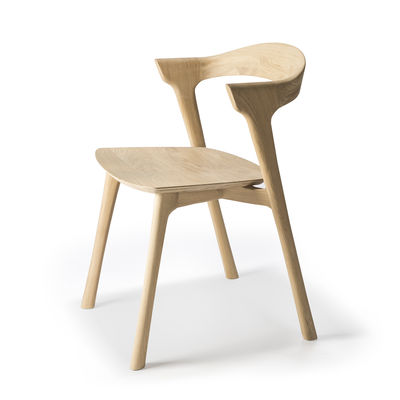 Mobilier - Chaises, fauteuils de salle à manger - Fauteuil Bok / Chêne massif - Ethnicraft - Chêne - Chêne massif