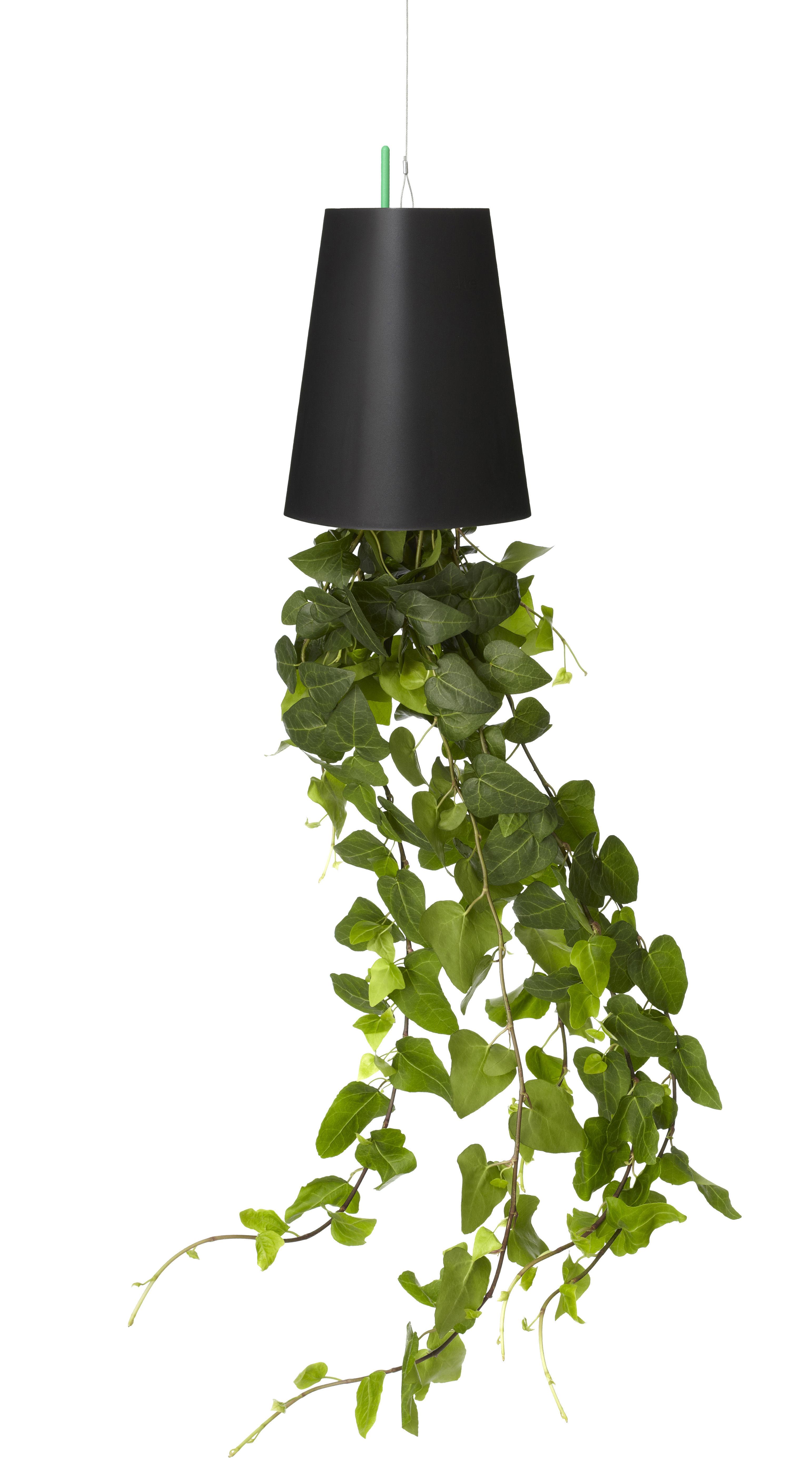 Decoration - Funny & surprising - Sky Polypropylène Flowerpot by Boskke - Black - Polypropylene