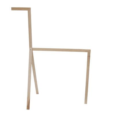 Mobilier - Portemanteaux, patères & portants - Porte-serviettes Cavallino Small / L 54 x H 43 cm - Valsecchi 1918 - Structure frêne / H 43 cm - Frêne massif