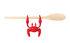 Repose-cuillère Red le Crabe / Echappe-vapeur - Pa Design