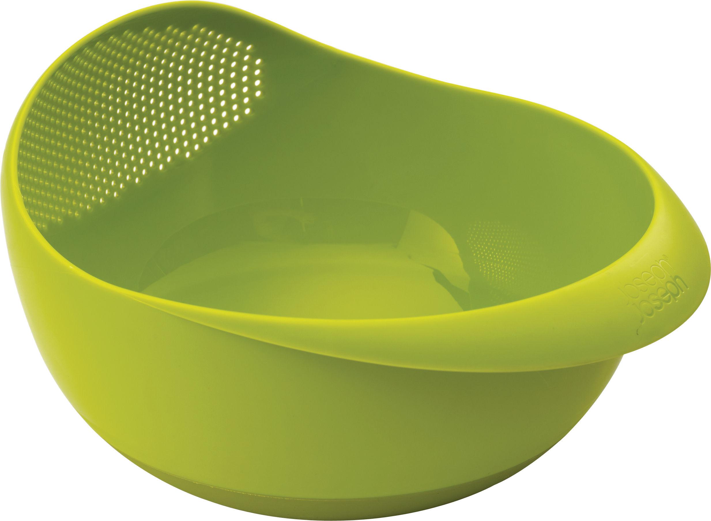 Tischkultur - Salatschüsseln und Schalen - Prep&Serve Salatschüssel / mit integriertem Sieb - Joseph Joseph - Grün - Polypropylen