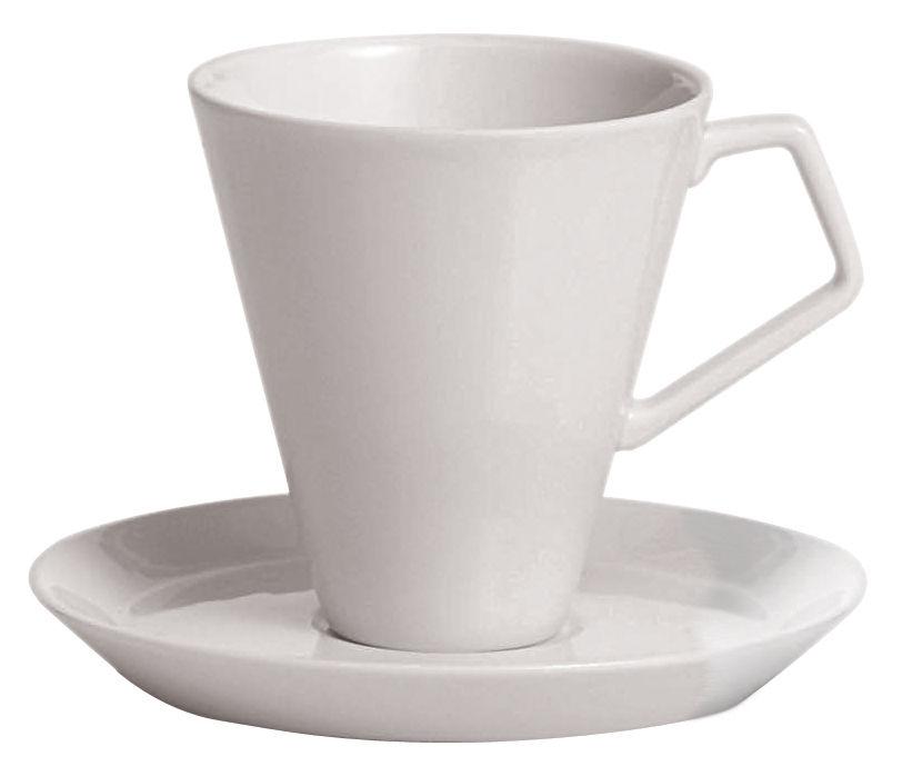 Arts de la table - Tasses et mugs - Soucoupe pour tasse à café Anatolia - Driade Kosmo - Soucoupe blanche - Porcelaine