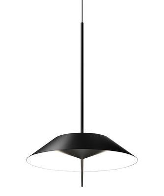 Luminaire - Suspensions - Suspension Mayfair LED / Ø 30 cm - Vibia - Graphite mat - Acier, Polycarbonate