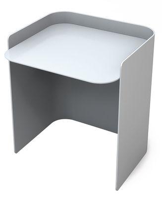 Table d'appoint Flor / Small - H 35 cm - Matière Grise gris en métal