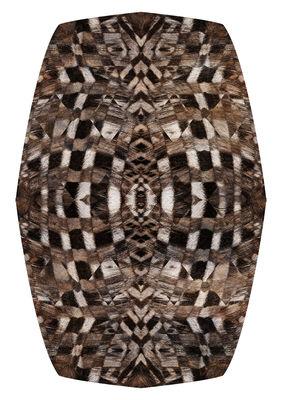 Déco - Tapis - Tapis Aristo Quagga / 200 x 300 cm - Moooi Carpets - Tons marrons - Polyamide