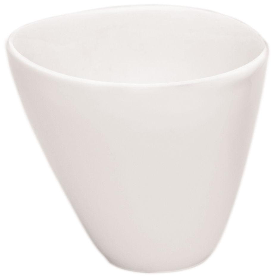 Tischkultur - Tassen und Becher - Bazelaire Teetasse - Sentou Edition - Altweiß - emaillierte Fayence