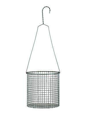 Outdoor - Vasi e Piante - Vaso sospeso Gaze - / Rete di metallo - Ø 20 x H 20 cm di Serax - Verde kaki - metallo laccato