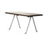 Officina Coffee table - / 120 x 45 cm - Walnut & wrought iron by Magis