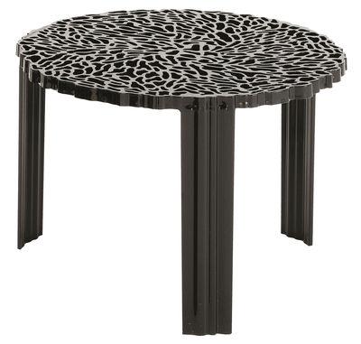 T-Table Medio Couchtisch - Kartell - Opakschwarz