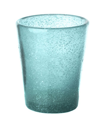 Tableware - Wine Glasses & Glassware - He Glass - Bubbled glass by Pols Potten - Sky blue bubbled - Bubbled glass