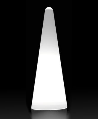 Lampadaire Cono Outdoor H 150 cm - Pour l'extérieur - Slide blanc en matière plastique