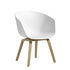 About a chair AAC42 Low armchair - / Plastic & oak by Hay