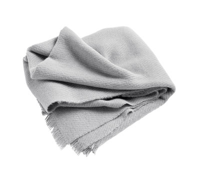 Decoration - Bedding & Bath Towels - Mono Plaid - / 130 x 180 cm - Wool by Hay - Taupe - Wool