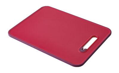Planche à découper Slice&Sharpen / Aiguiseur à couteaux intégré - Joseph Joseph rouge,violet en matière plastique
