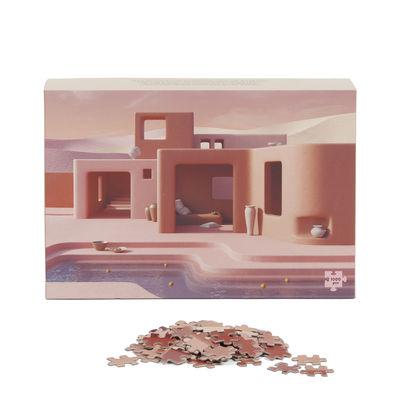 Puzzle Adobe Poolside / 1000 pièces - Slowdown Studio rose en papier