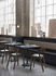 Linear Café Square table - / 70 x 70 cm - Steel by Muuto