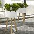 Support pour pot de fleurs Jean-Baptiste / H 43,5 cm - Mélèze - Cinna