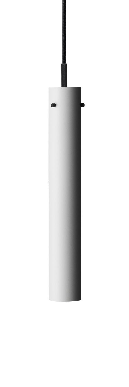 Luminaire - Suspensions - Suspension FM 2014 / Ø 5,5 x H 36 cm - Rewired - Blanc - Acier laqué époxy