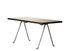 Table basse Officina / 120 x 45 cm - Noyer & fer forgé - Magis