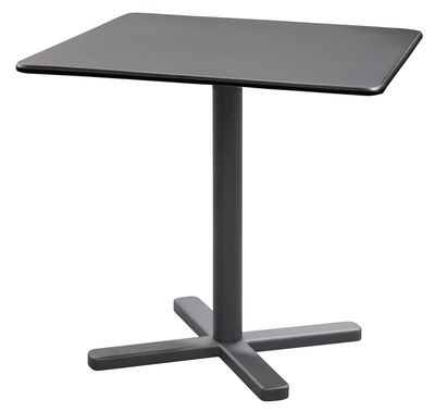Jardin - Tables de jardin - Table pliante Darwin / 80 x 80 cm - Emu - Fer ancien - Acier verni