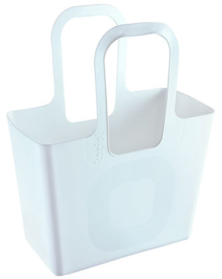 Decoration - For bathroom - Tasche XL Basket by Koziol - White - Plastic material