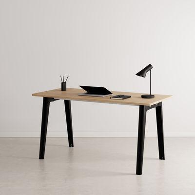 Bureau New Modern / 150 x 70 cm - Chêne éco-certifié - TIPTOE noir en métal/bois