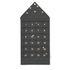 Calendrier de l'avent Star / Tissu - 24 jours / L 50 x H 100 cm - Ferm Living
