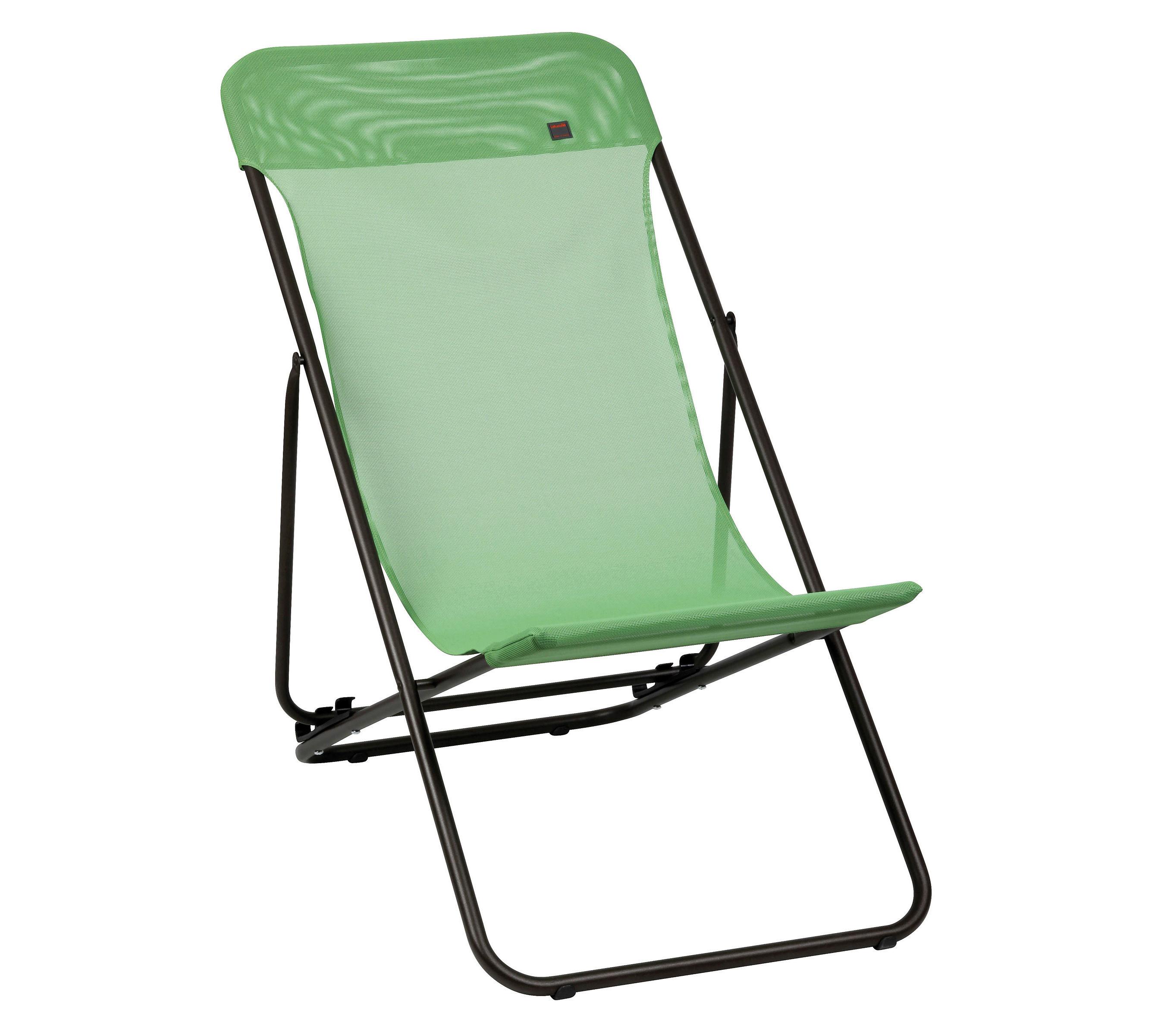 Chaise longue Transatube / Pliable - 3 positions Granny