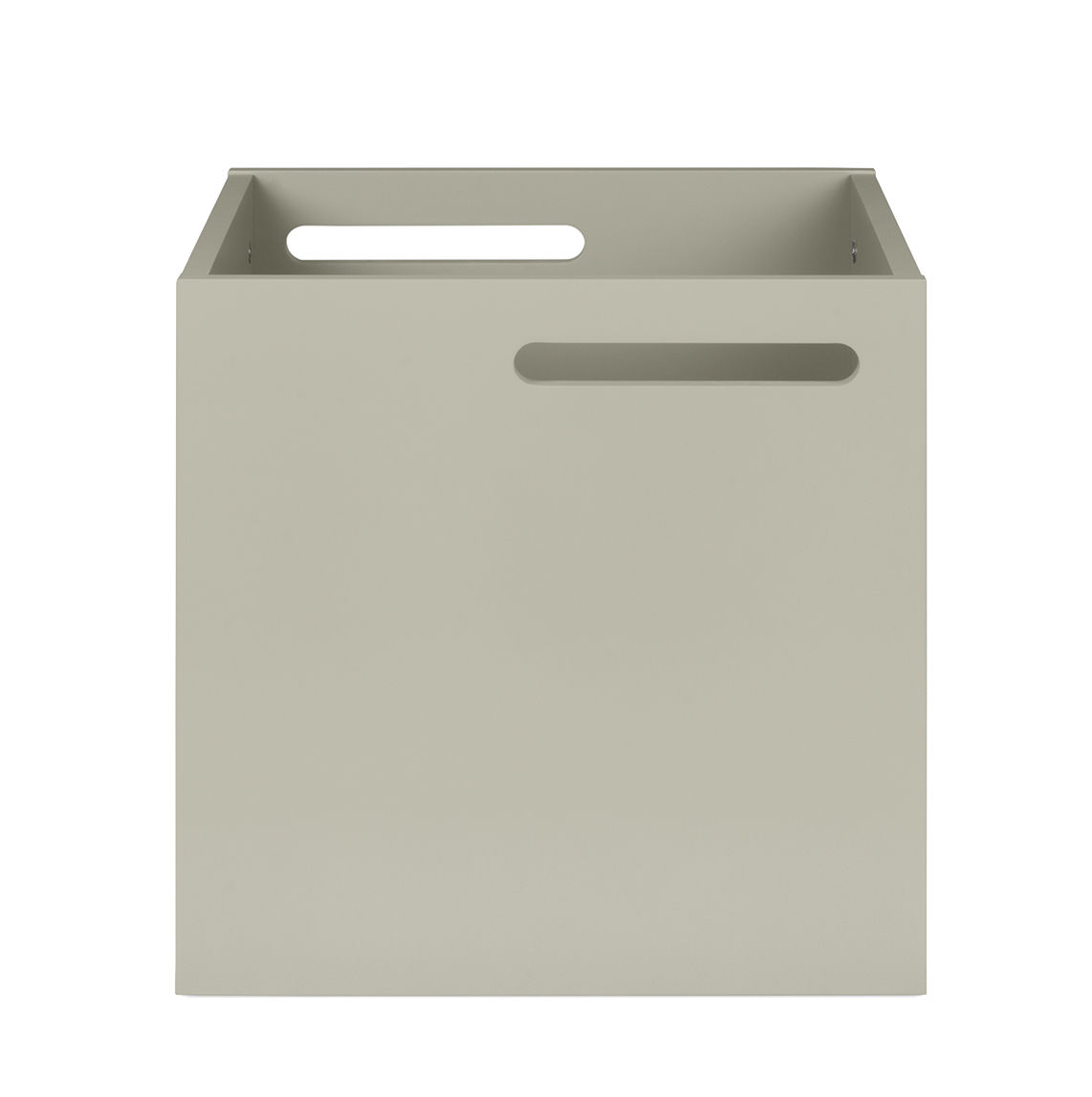 Furniture - Bookcases & Bookshelves - Crate - For Rotterdam bookshelf by POP UP HOME - Light grey - Painted MDF