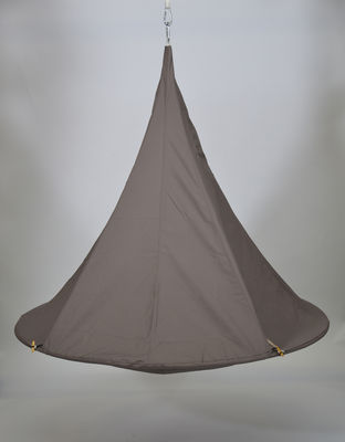 Outdoor - Ornaments & Accessories - Door - / for Cacoon 2-person tent - Ø 180 cm by Cacoon - Taupe - Cloth