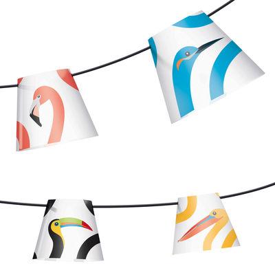 Guirlande lumineuse Party polonaise / Pour l´extérieur - L 14,5 m - Fatboy multicolore en matière plastique
