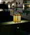 Lampada solare Solare - / Teak - H 30 cm / Ricarica solare o USB di Unopiu
