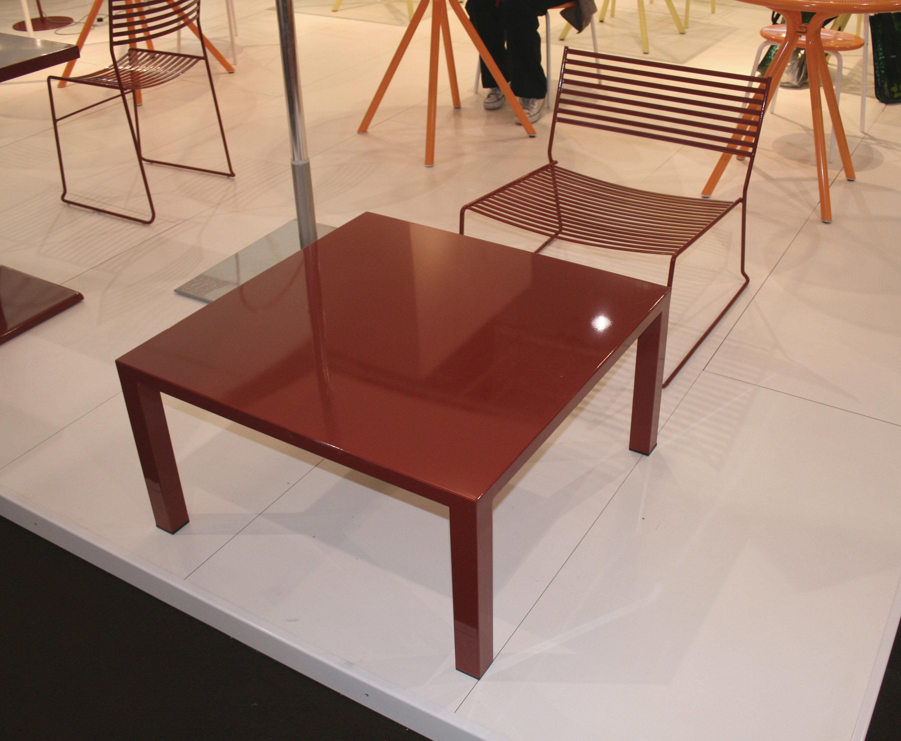 ca68dbf29e949b ... Furniture - Armchairs - Aero Low armchair by Emu - Aluminium -  Lacquered steel