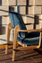 JH97 Low armchair - by Jaime Hayon / Fabric by Fritz Hansen