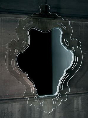 Mobilier - Miroirs - Miroir mural Rokoko / L 61 x H 84 cm - Glas Italia - Transparent - Vertical - Verre