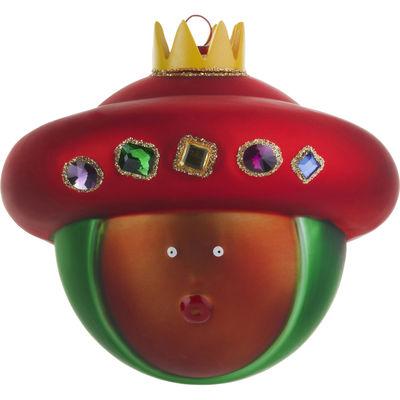 Interni - Oggetti déco - Palle di Natale Baldassarre - /Baldassarre di A di Alessi - Baldassarre - Multicolore - Vetro soffiato a bocca