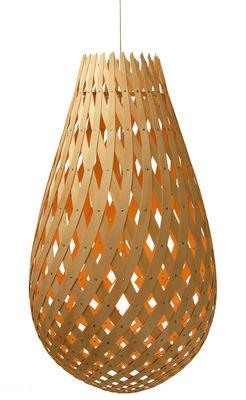 Lighting - Pendant Lighting - Koura Pendant - Ø 52 cm by David Trubridge - Natural wood - Pine plywood