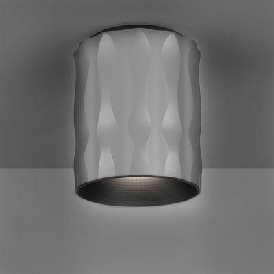 Plafonnier Fiamma / H 16 cm - Artemide gris métallisé en métal