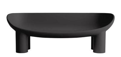 Möbel - Sofas - Roly Poly Sofa / L 175 cm - 3-Sitzer - Driade - Graphitschwarz - Polyäthylen