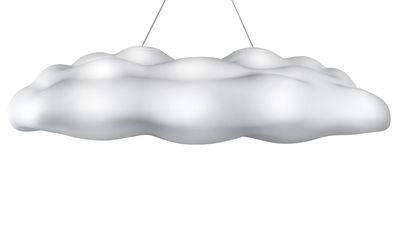 Illuminazione - Lampadari - Sospensione Néfos di MyYour - Bianco traslucido - Polietilene