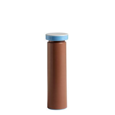 Egg Cups - Salt & Pepper Mills - Sowden Medium Spice mill - / H 20 cm - Salt & pepper - Metal by Hay - Terracotta - Ceramic, Polypropylene, Stainless steel