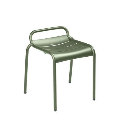 Möbel - Hocker - Luxembourg Stappelbarer Hocker / Aluminium - Fermob - Kaktus - bemaltes Aluminium