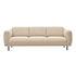 Teddy XL Straight sofa - / L 218 cm - Terry loop fabric by Pols Potten