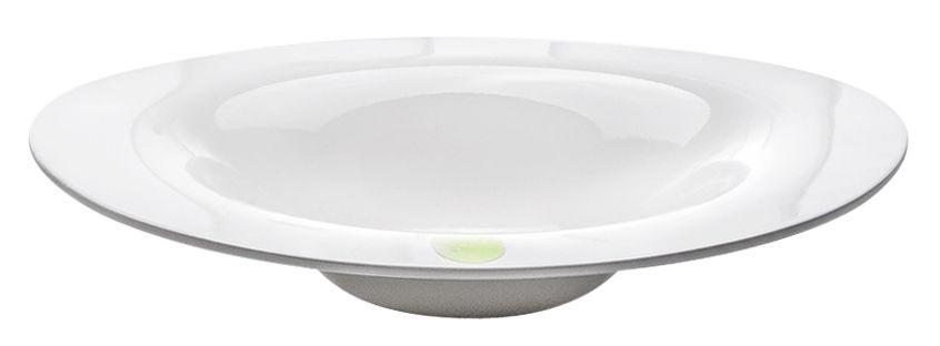 Tischkultur - Teller - I.D.Ish by D'O Winter Suppenteller / asymmetrisch - Kartell - Weiß / asymmetrischer Suppenteller - Melamin